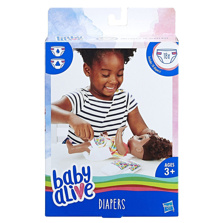 Baby alive diaper refills 18 pack hasbro