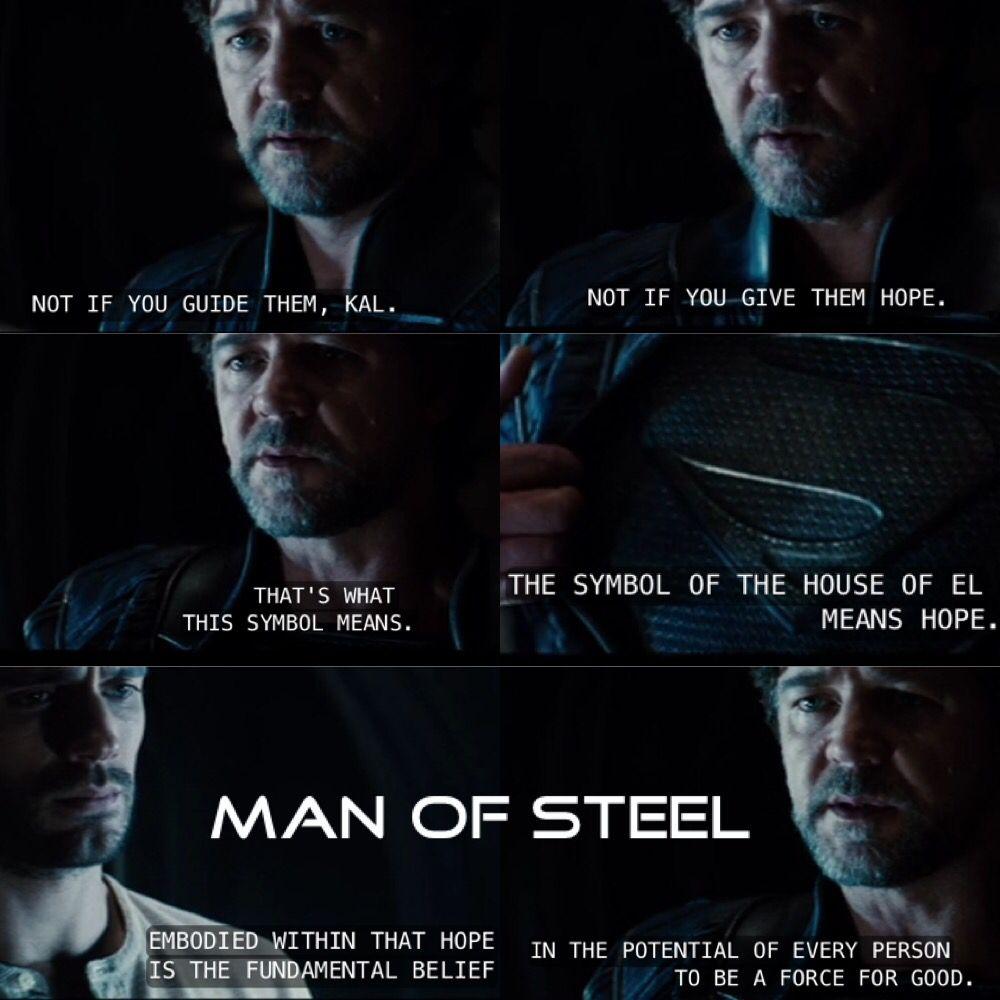 Man Of Steel Quotes Superman  Man Of Steel Movie Quotes  Kal El And Jor El  Movie