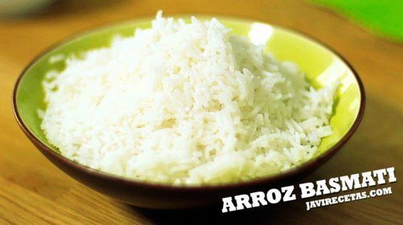 Basmati arroz cocido del calorias