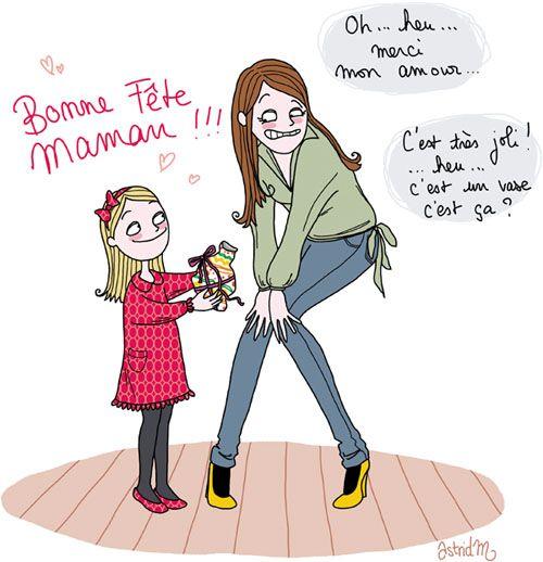 Bonne f te maman heu merci ma ch rie c 39 est euh un vase o books worth - Bonne fete cheri ...