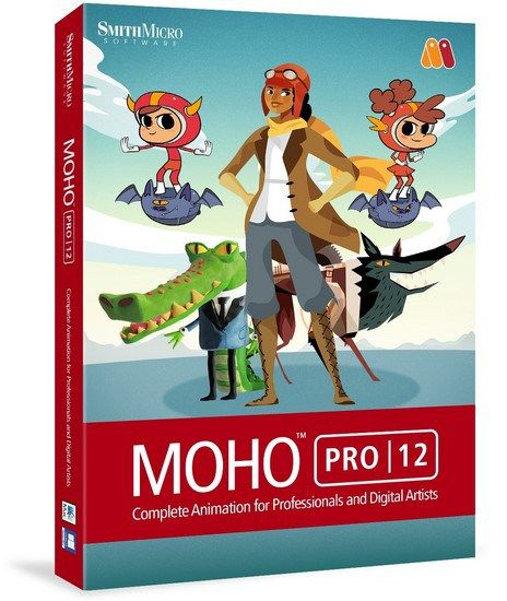 Smith Micro Moho Pro 12 (Anime Studio) Crack & Keygen Free