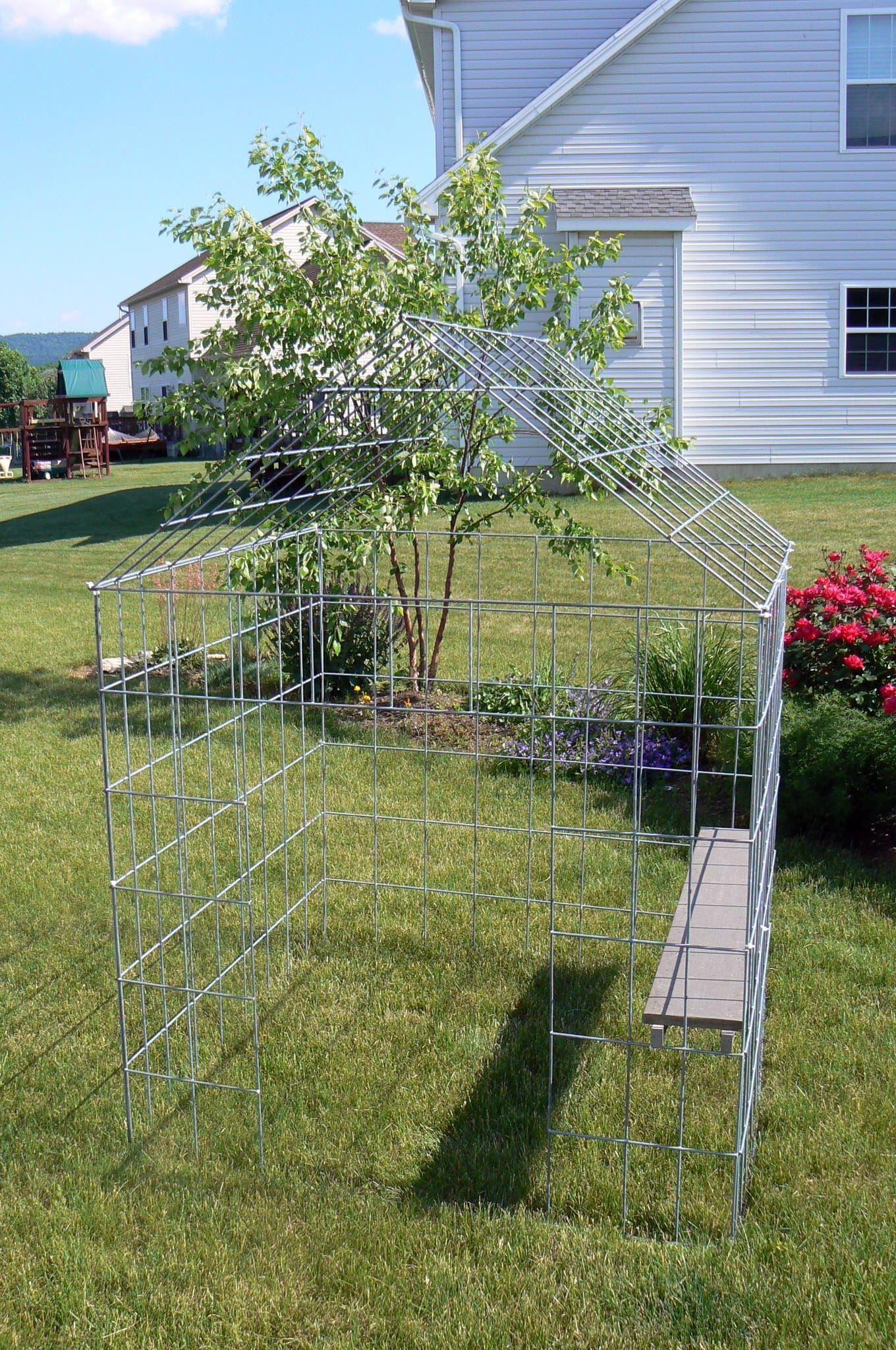 Pin On Grow House Wire Trellis Playhouse