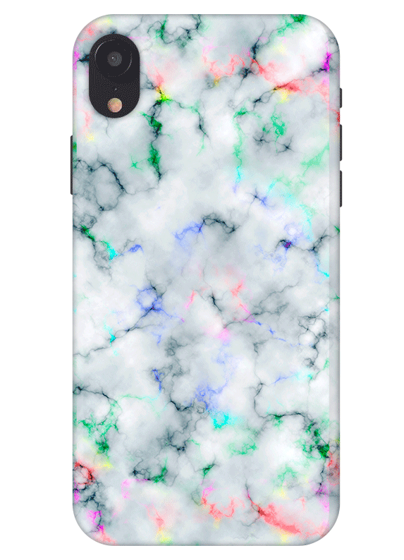 sneakers for cheap 99f17 0ec94 Cloudy Rainbow Marble iPhone XR Phone Case | P H O N E in 2019 ...
