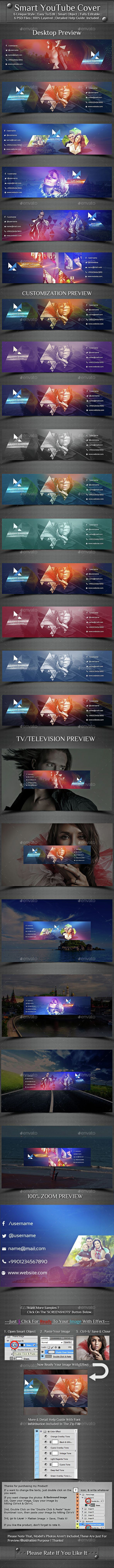 Smart Youtube Cover Template Psd Download Here Httpgraphicriver
