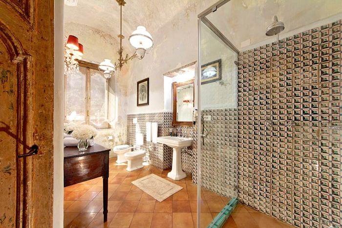 palazzo santa croce - positano - luxury villas on the amalfi coast ... - Villa Arredo Bagno