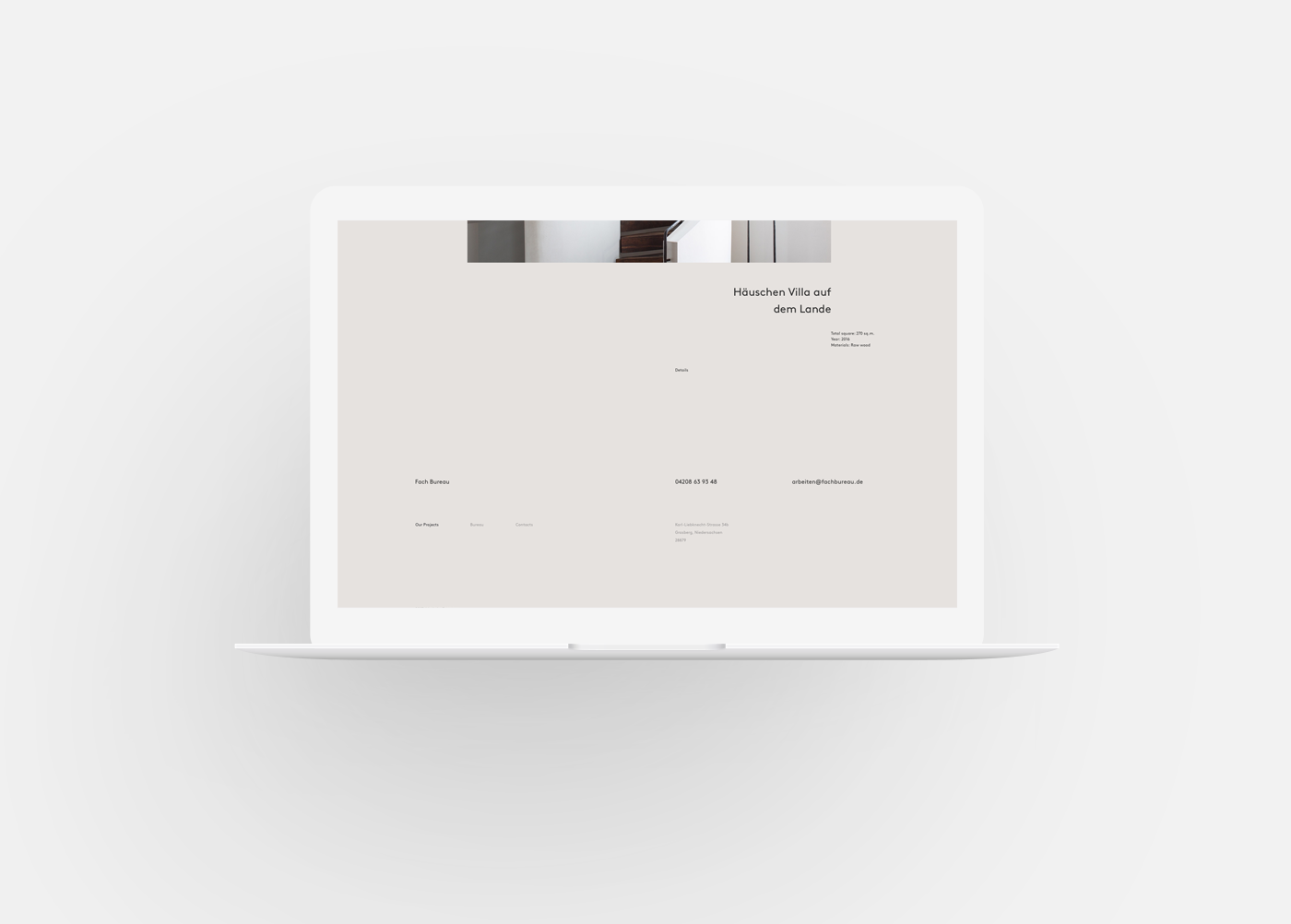 Fach bureau on behance #graphicdesign #website #web #design #graphic