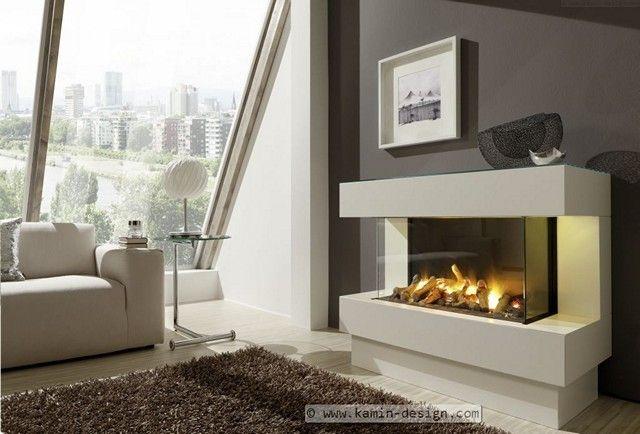 4 EL Elektrischer Kamin Mit Opti Myst Feuer #wohnzimmer Ideen #