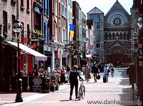 Downtown Dublin Limerick Ireland Ireland Honeymoon Visit Ireland
