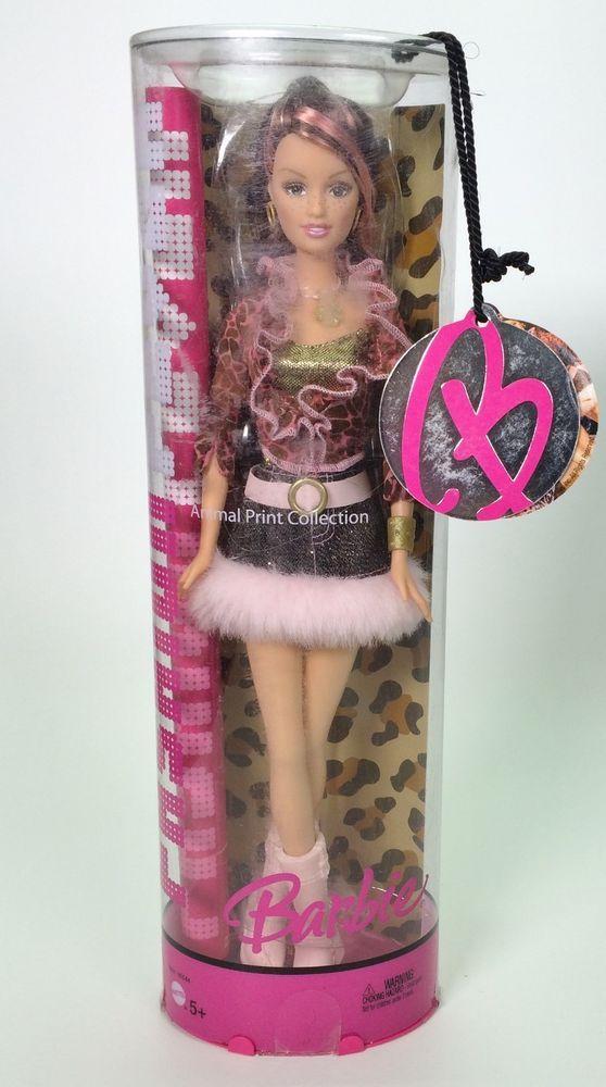 2005 Fashion Fever Barbie Drew Animal Print Collection
