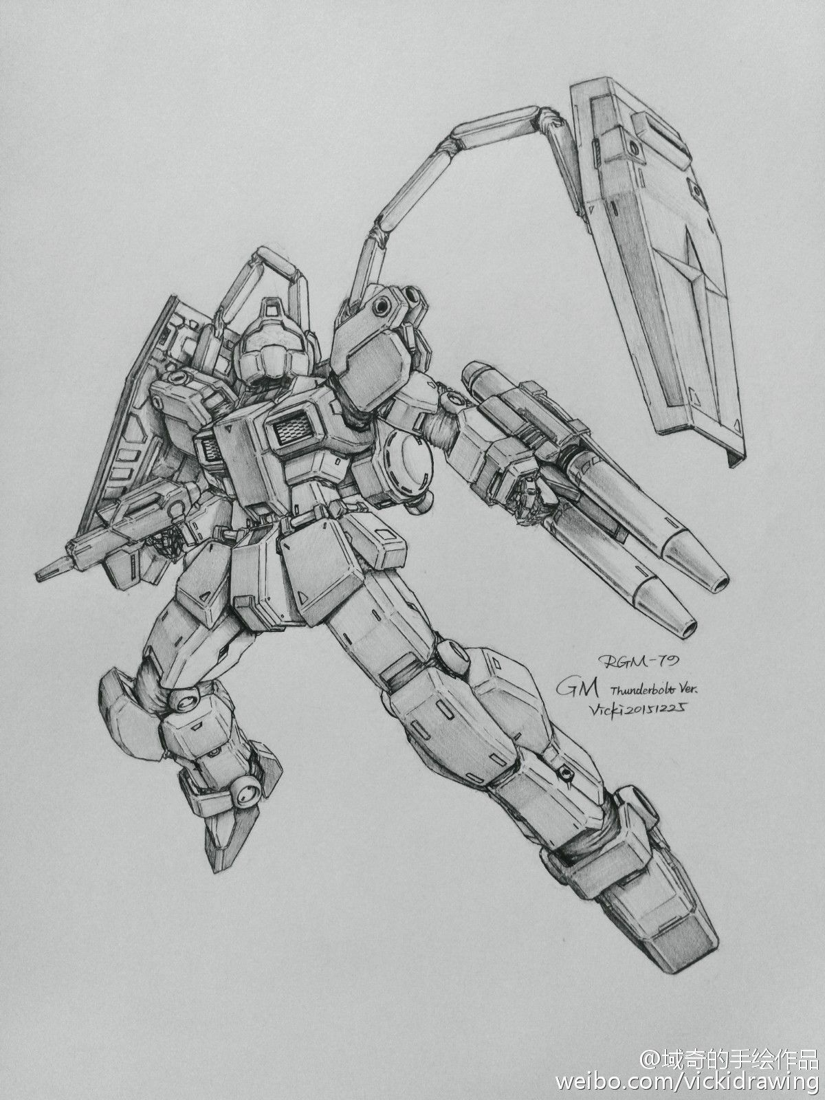 Awesome Gundam Sketches By Vickidrawing Updated 2 9 17