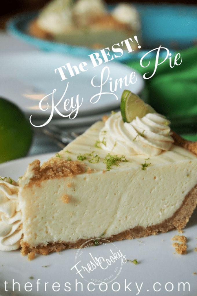 The Best Key Lime Pie The BEST Key Lime Pie Gluten Free Recipes gluten free key lime pie