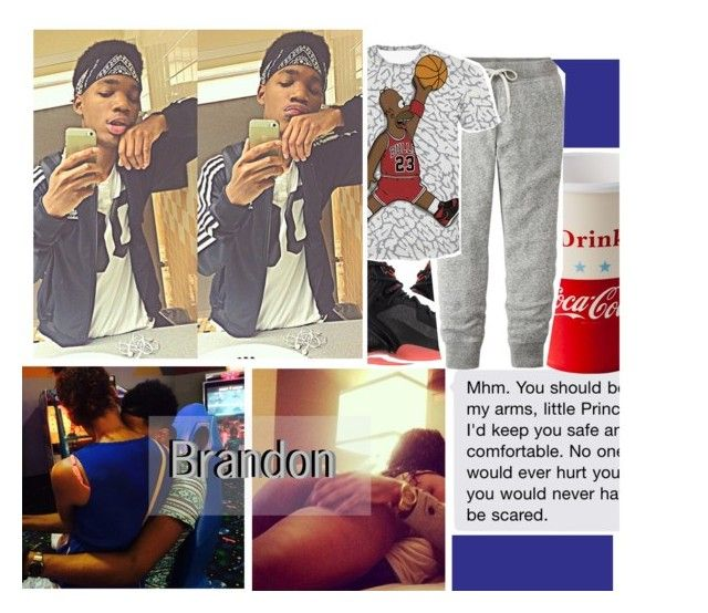 """2:49 Brandon"" by anon-lordz ❤ liked on Polyvore featuring NIKE, Dot & Bo, Uniqlo and xO Design"