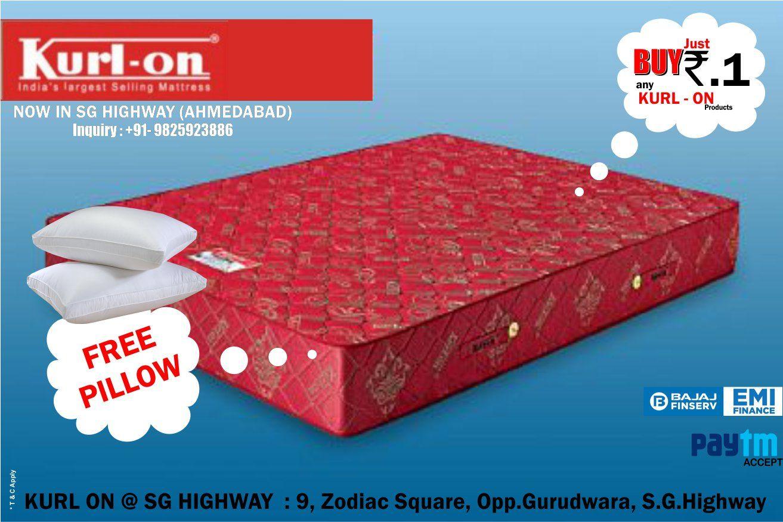pin by kurlon mattress sg highway on mattress showroom in sg