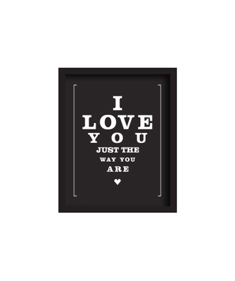 Regalos que encantan: Cuadro Mediano [LOVE TO BE] I love you just en Dekosas.