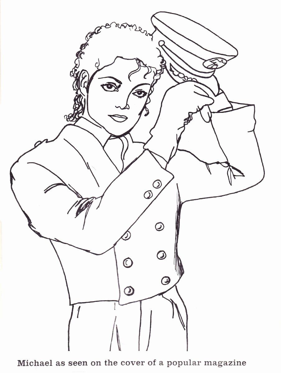 Michaels Adult Coloring Book New Page 10 Michael Jackson