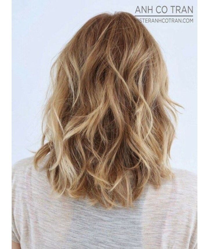 great haircuts for shoulder length wavy hair shoulder 5261