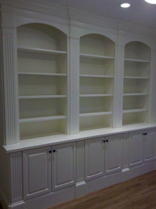 Beadboard Shelves Part - 29: Built In Bookshelves With Beadboard   Study Built In Study Built Ins Select  Another Service Gallery