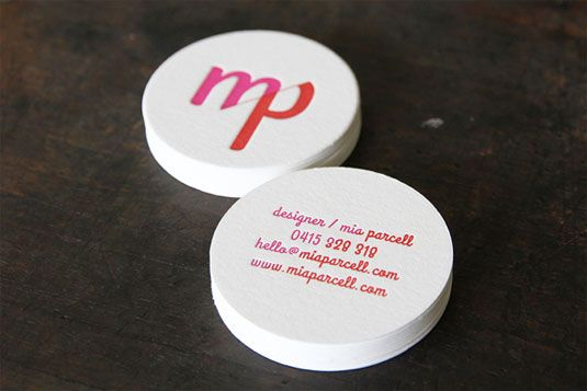 Diseños de tarjetas de presentación Letterpress - Frogx.Three