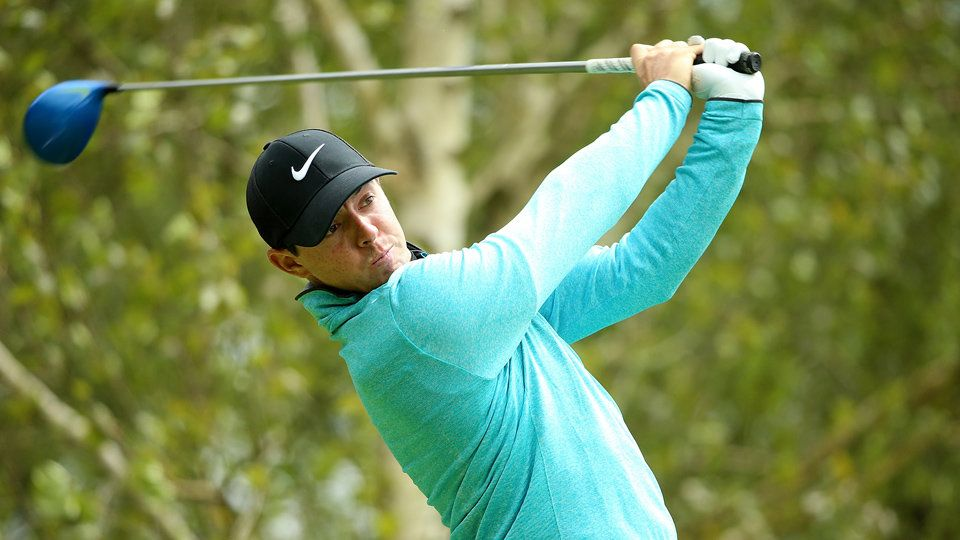 Rory McIlroy Smashes 357-Yard Uphill Drive