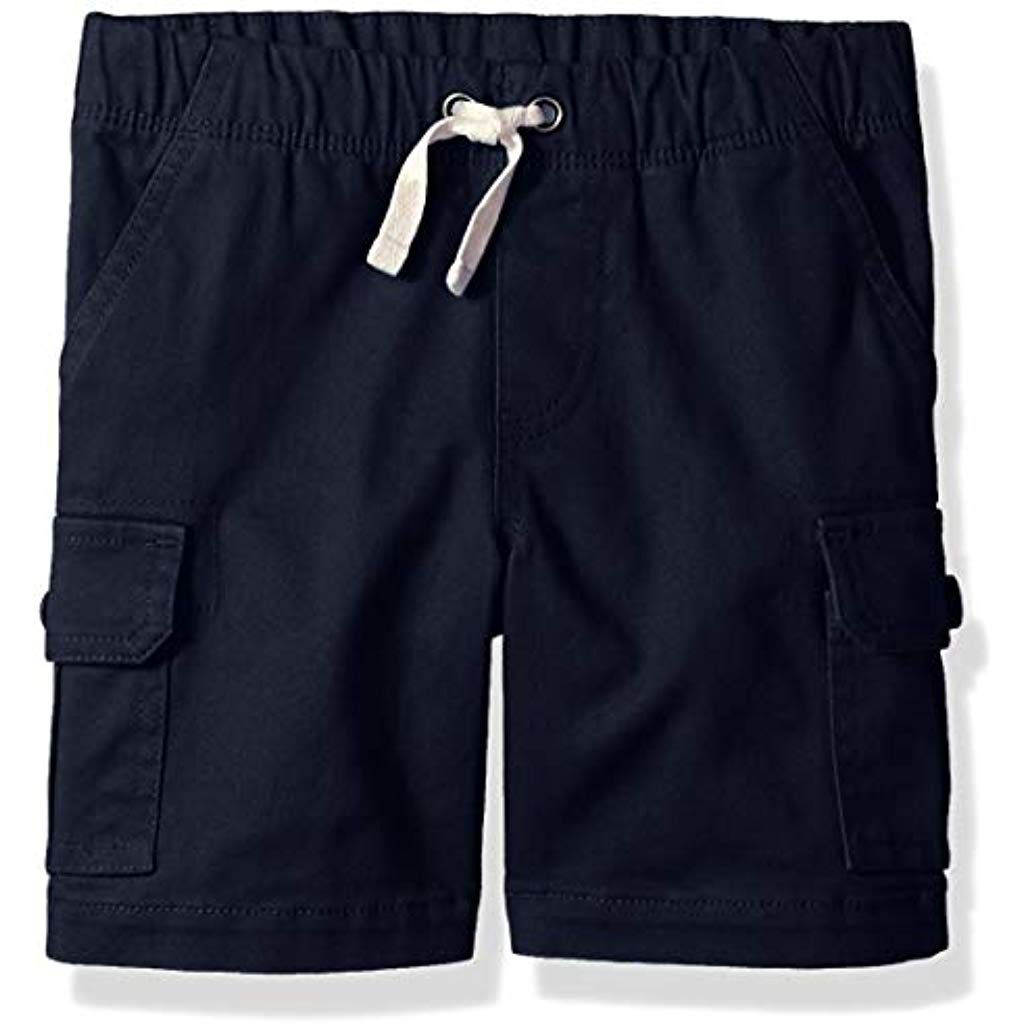 Betusline Boys Drawstring Denim Shorts