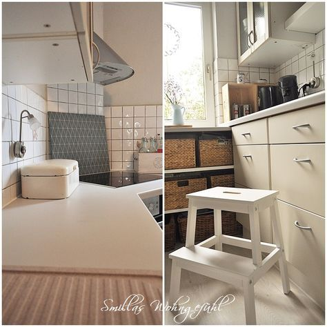 ENDLICH! neue alte Küche mit Kreidefarbe - neue türen für küchenschränke