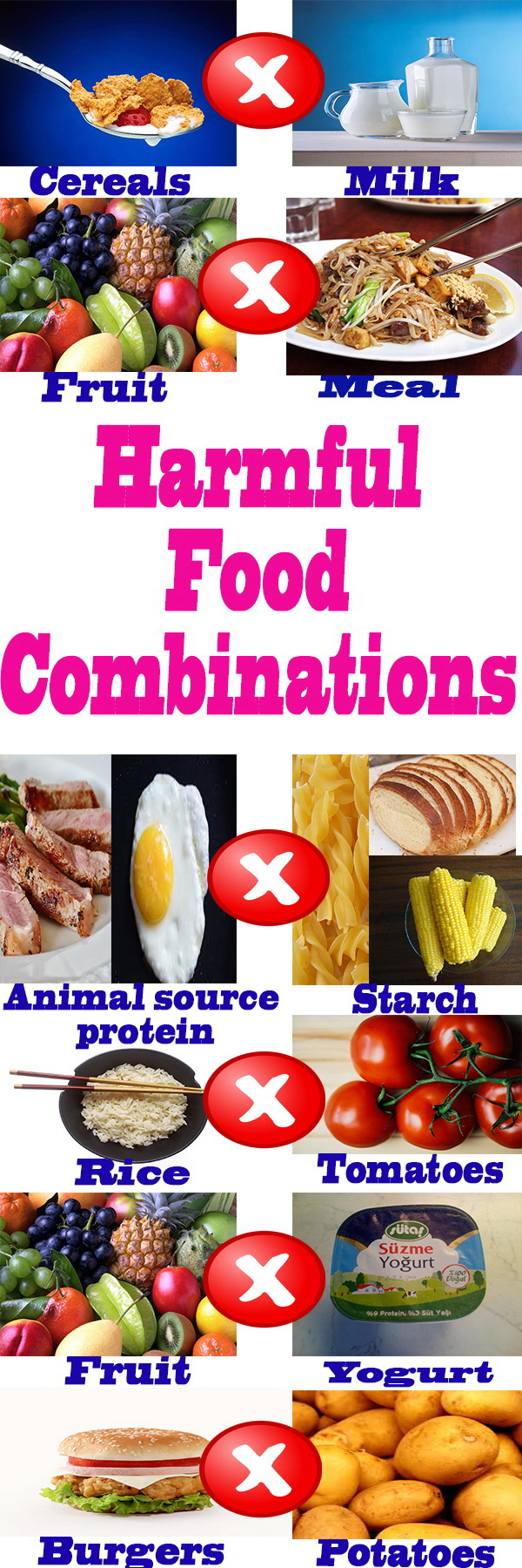 Claim that these are harmful combinations of products 79