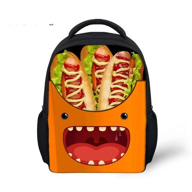 funny french fries style baby bag school bags for boys school bags for kids kids backpacks pinterest