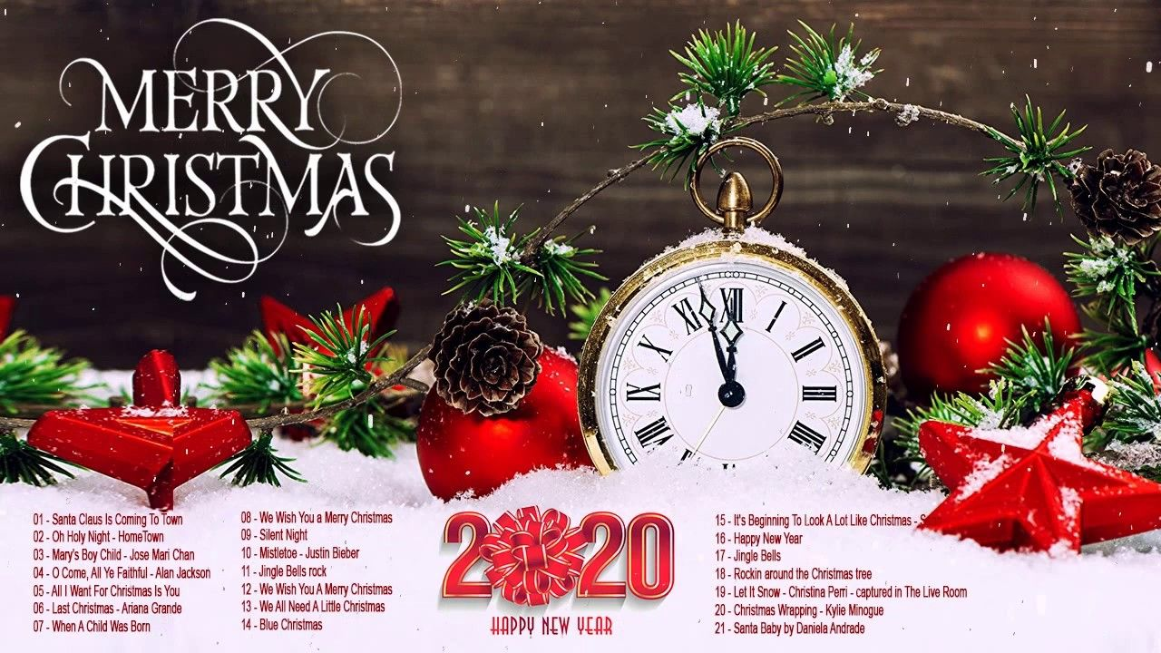 Christmas Music 2020   Top 100 Traditional Christmas Songs