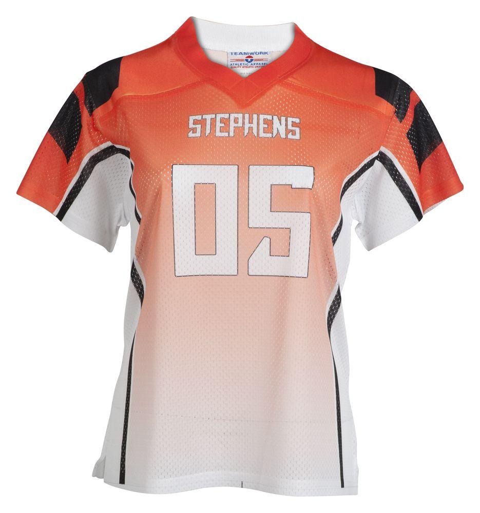 dcc9f3dc2 Womens custom fan football jersey