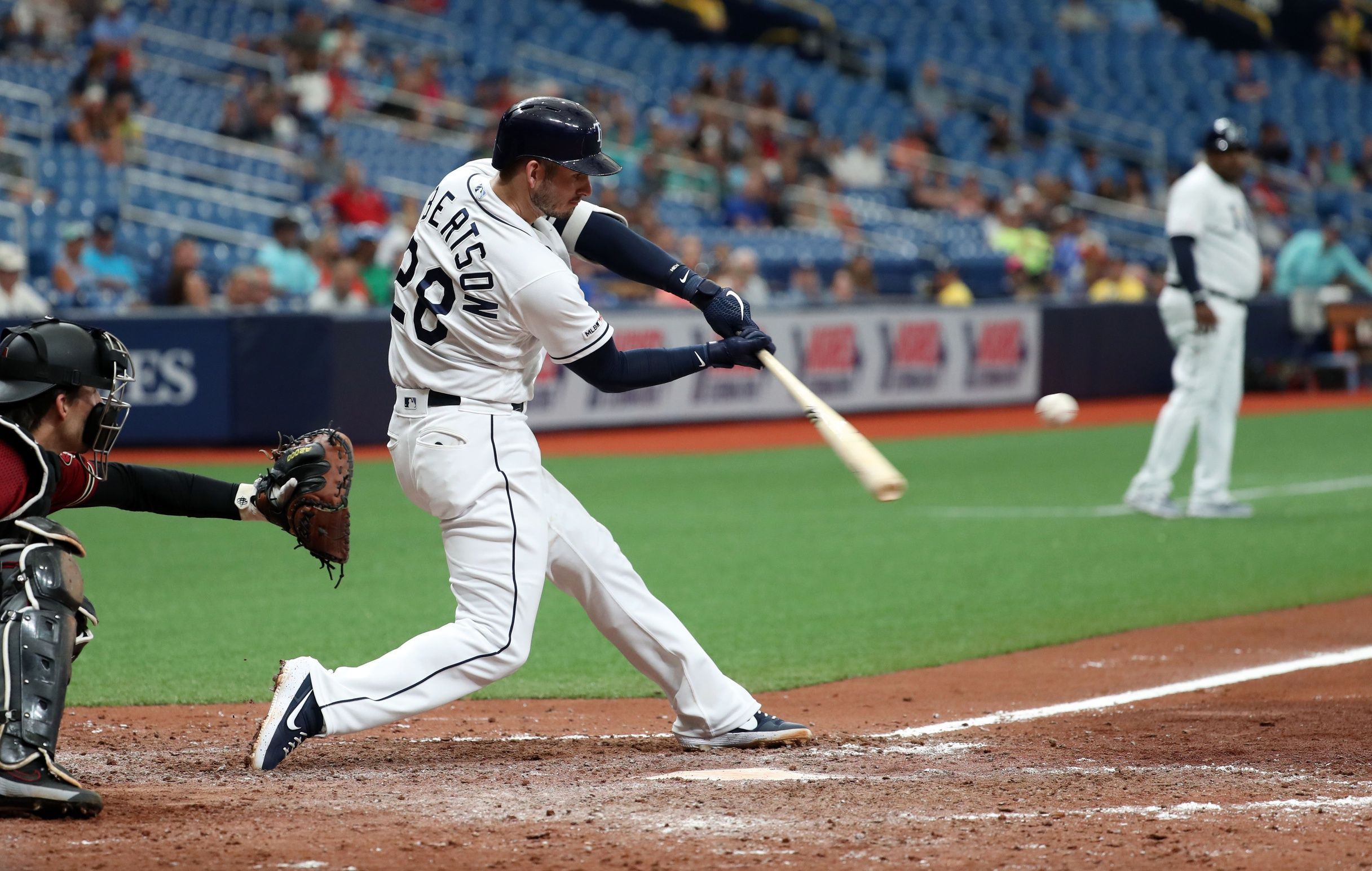 Looks Like This Player Has Made Some Great Contact With The Ball Here Mlb Baseball Picksparlys Mlb Gary Sanchez Yankees