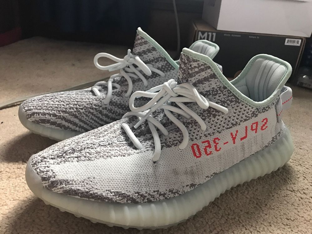 huge discount c7916 a608e Used Yeezy Boost 350 v2 Blue Tint Mens Size 10.5 #fashion ...