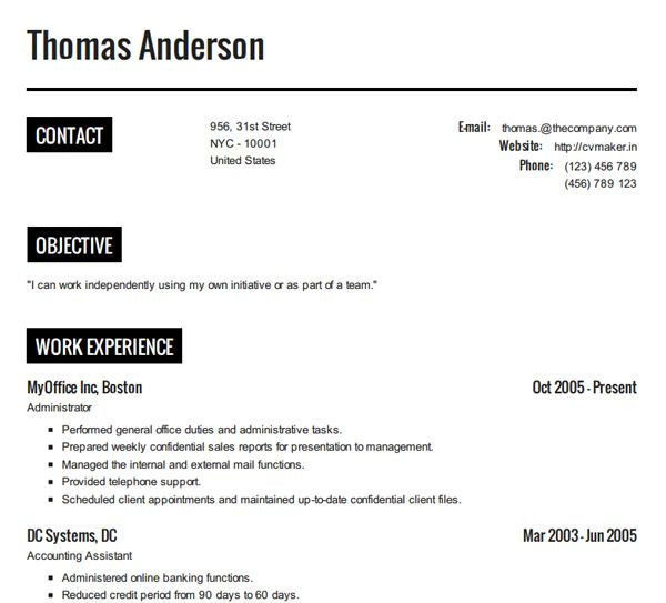 10 Online Tools To Create Impressive Resumes Tools, Resume and - how to create perfect resume