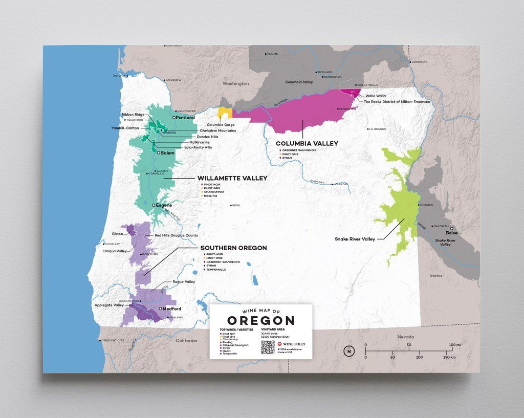 Maps Complete Set In 2019 Oregon Wine Country Pinot Noir