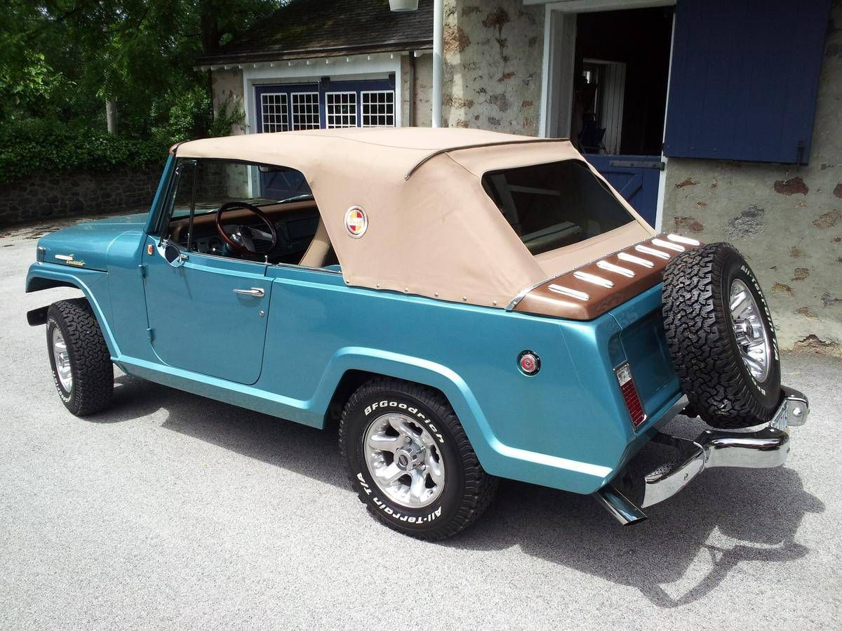 1967 Jeep Jeepster 8701 Commando Convertible For Sale 1765544 Hemmings Motor News Jeepster Jeepster Commando Jeep