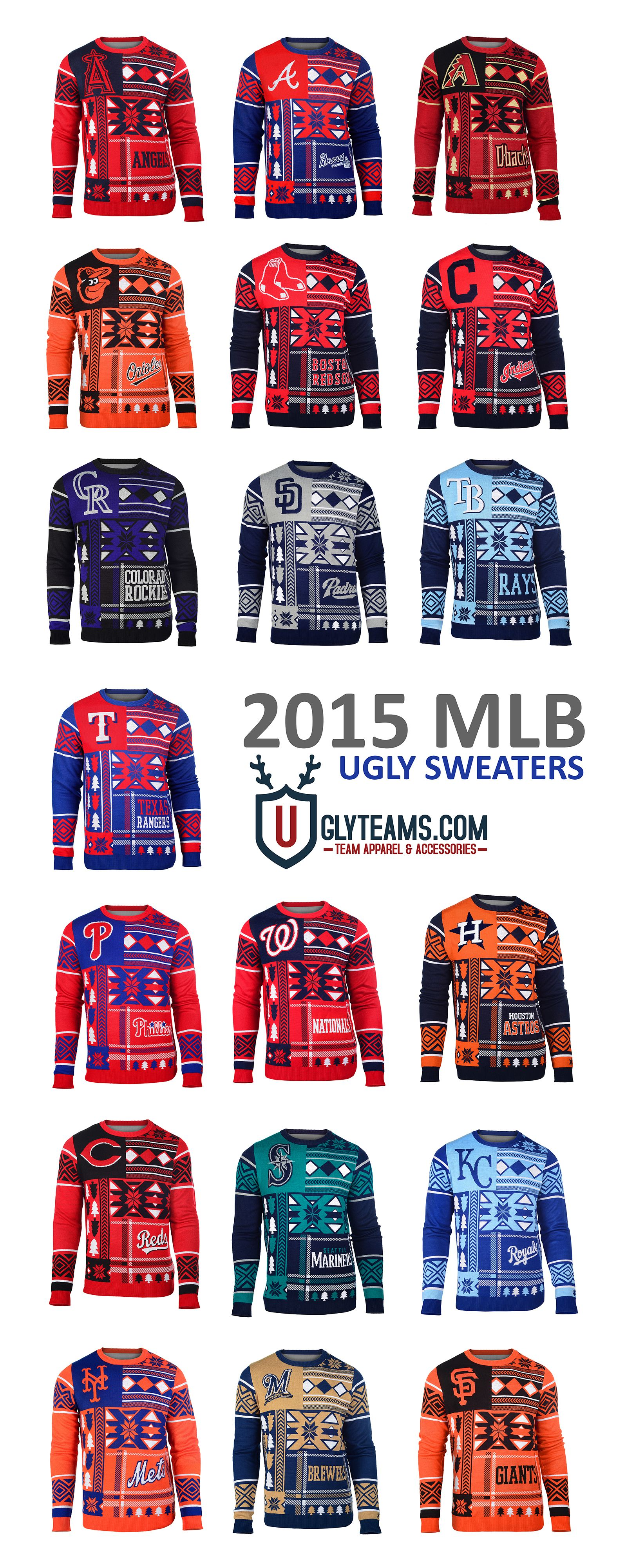 13828f3fec70 2015 MLB Ugly Sweaters from Uglyteams | Clothing | Baltimore orioles ...