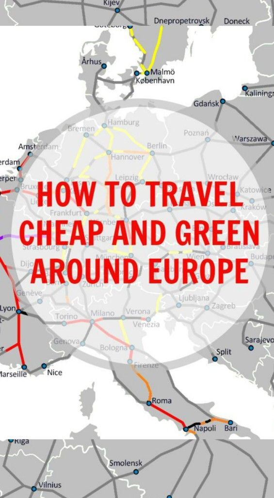 How To Travel Cheap And Green Around Europe Paths Travel Europe - How to travel europe cheap