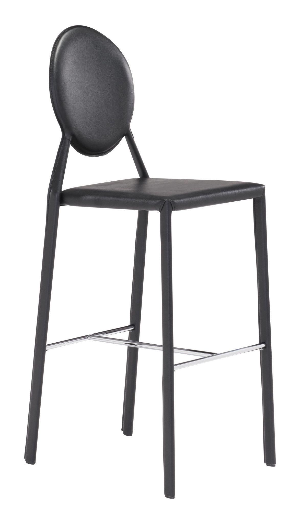 Zuo Ville Marie Bar Chair Bar Chairs Bar Stools Modern Bar Stools