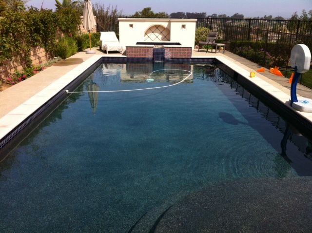 30 000 Gallons Conserved By Not Draining This Pool Due To High Calcium Levels Pool Outdoor Decor Outdoor