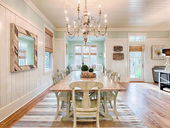 coastal dining room | Mint Julep - WaterColor, Florida