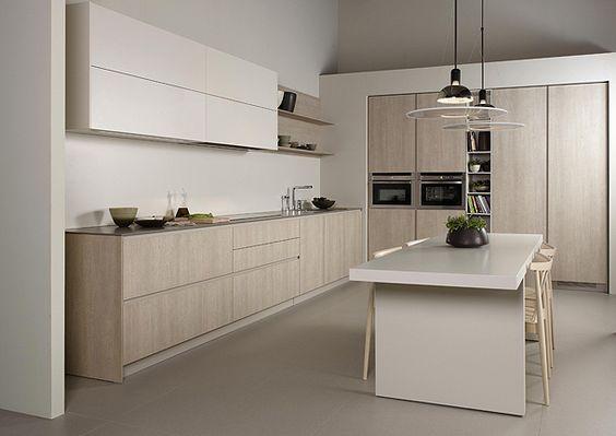 Diseños de cocinas modernas y minimalistas ideas y fotos cocina