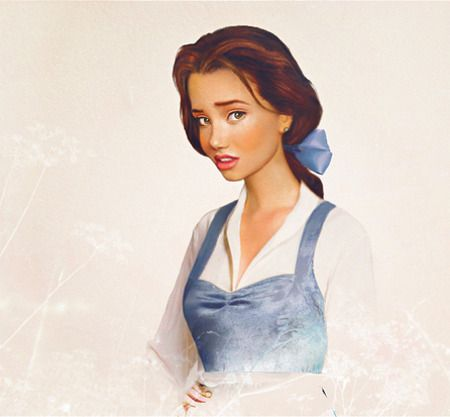 Bella pinup #Disney princess #makeover