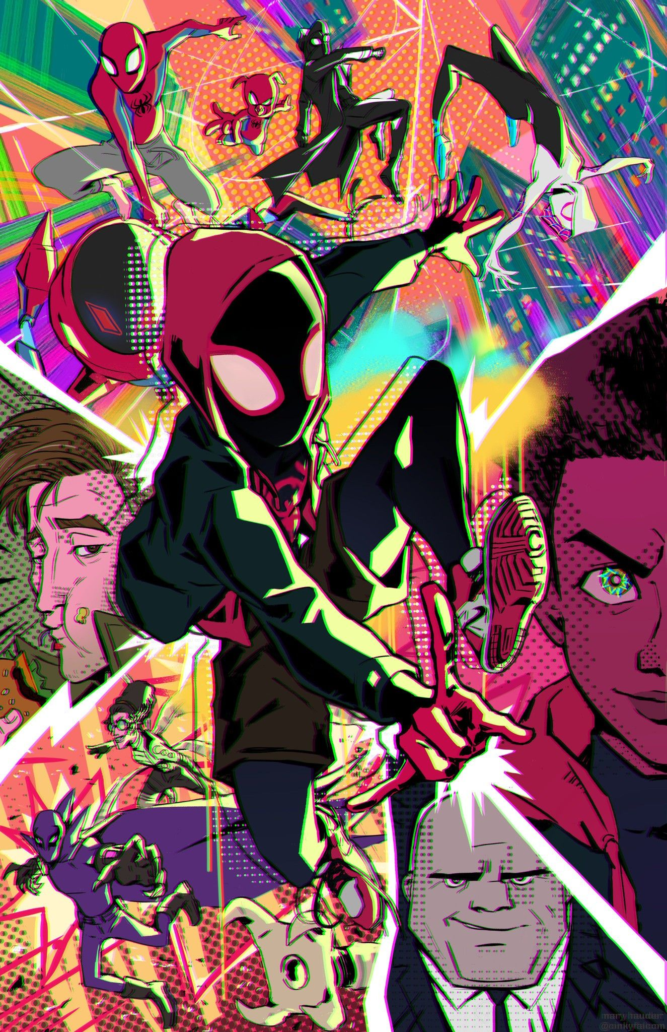 Pin by Eugene on Spiderman Into the spiderverse Marvel