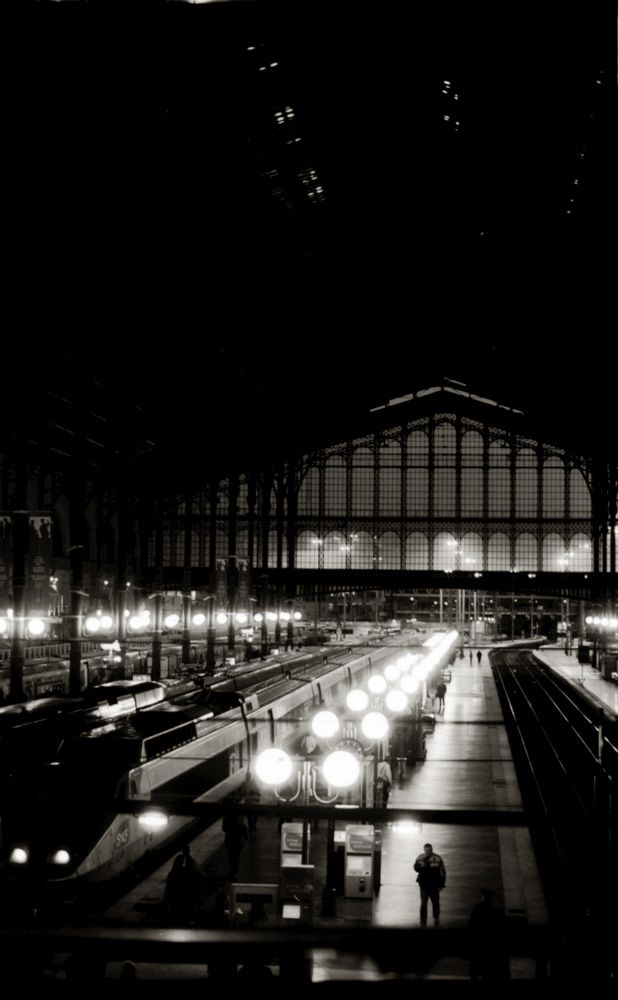 Gare du Nord~ Paris  Taking the train to London