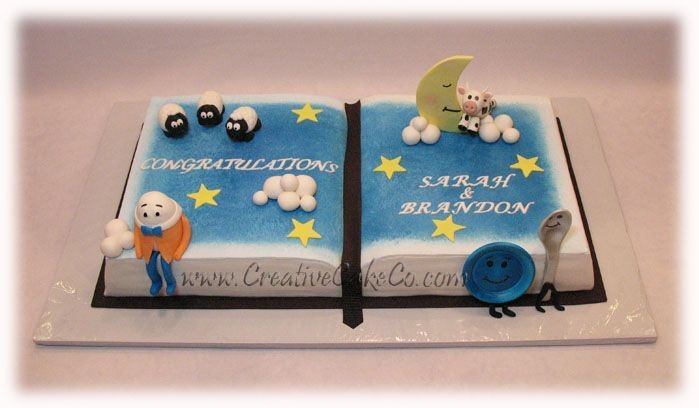 Storybook Baby Shower Cake Google Search Cakes Pinterest