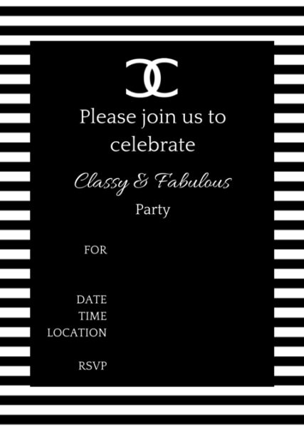 Coco Chanel Party Ideas Chanel Party Chanel Birthday Party
