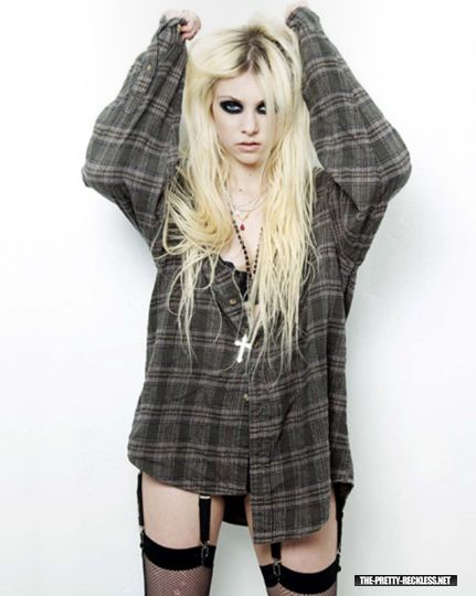 The Pretty Reckless Have You Gone Plaid Taylor Momsen Style