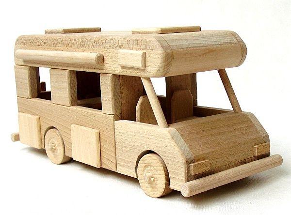Spielzeug Wohnwagen | Holzspielzeug für kinder, Spielzeug ...