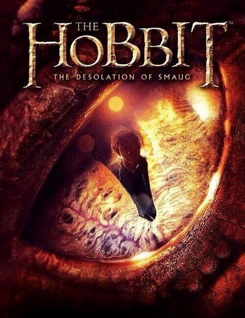 Nueva Imagen Y Póster De El Hobbit La Desolación De Smaug La Desolación De Smaug Hobbit Dragón Smaug