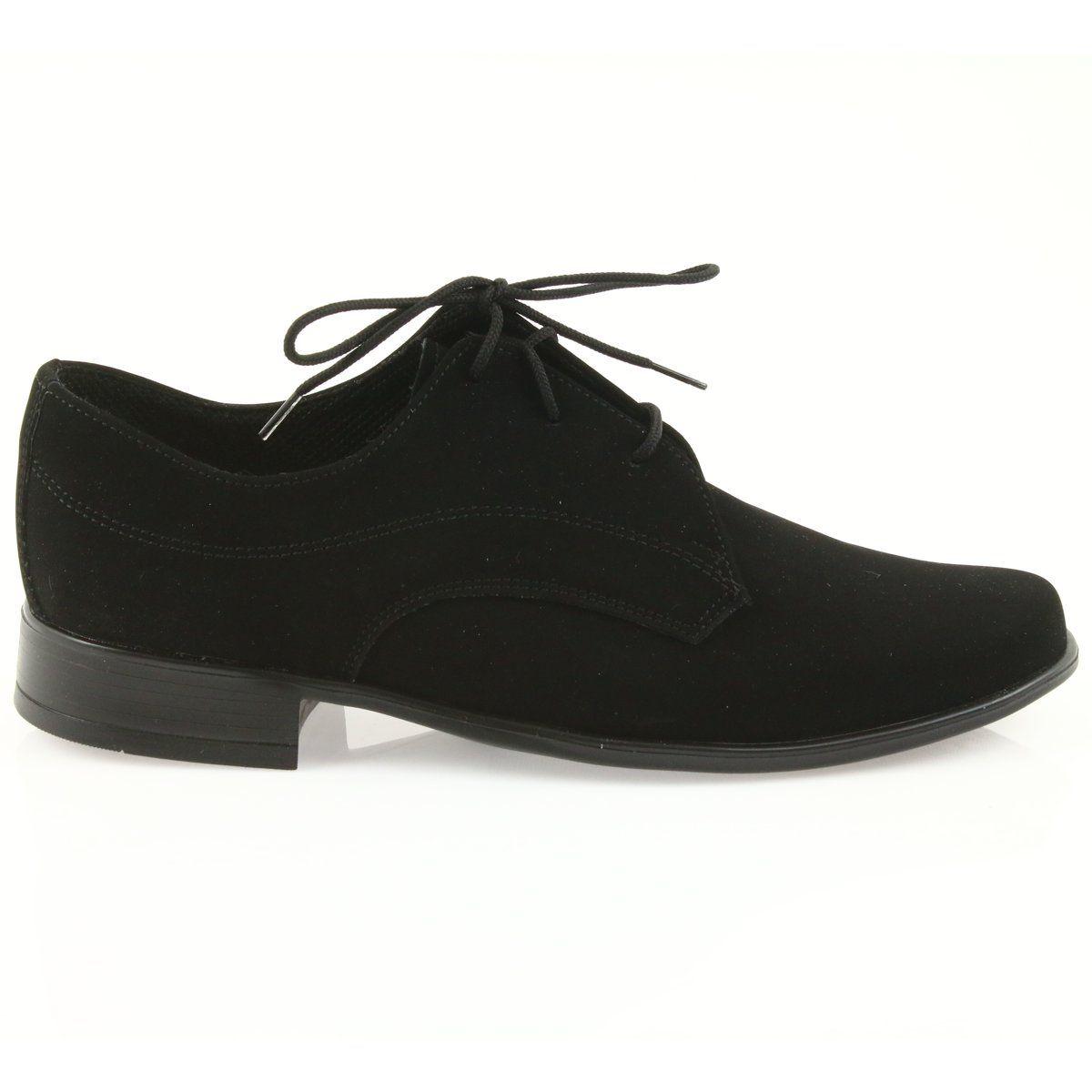 Miko Polbuty Dzieciece Zamszowe Buty Komunijne Czarne Womens Oxfords Oxford Shoes Shoes