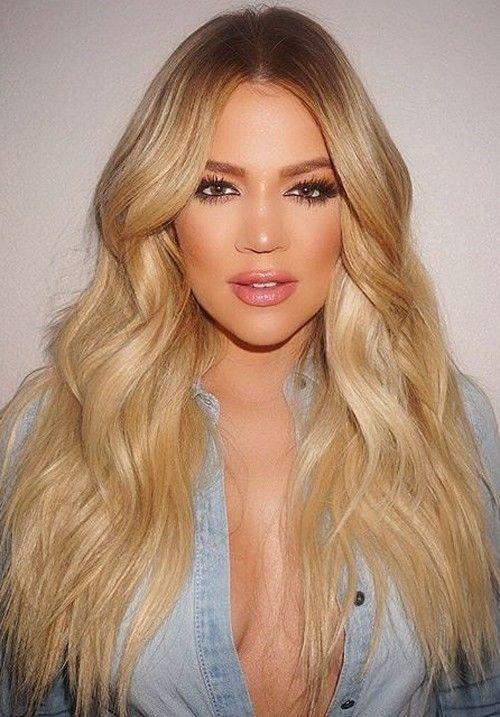 Khloe Kardashian Hair 2019 Blonde